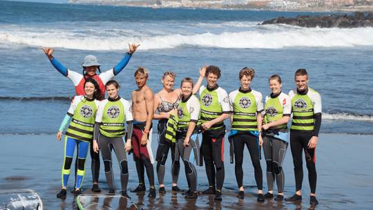 Surfing School, Tenerife Surf Point 6
